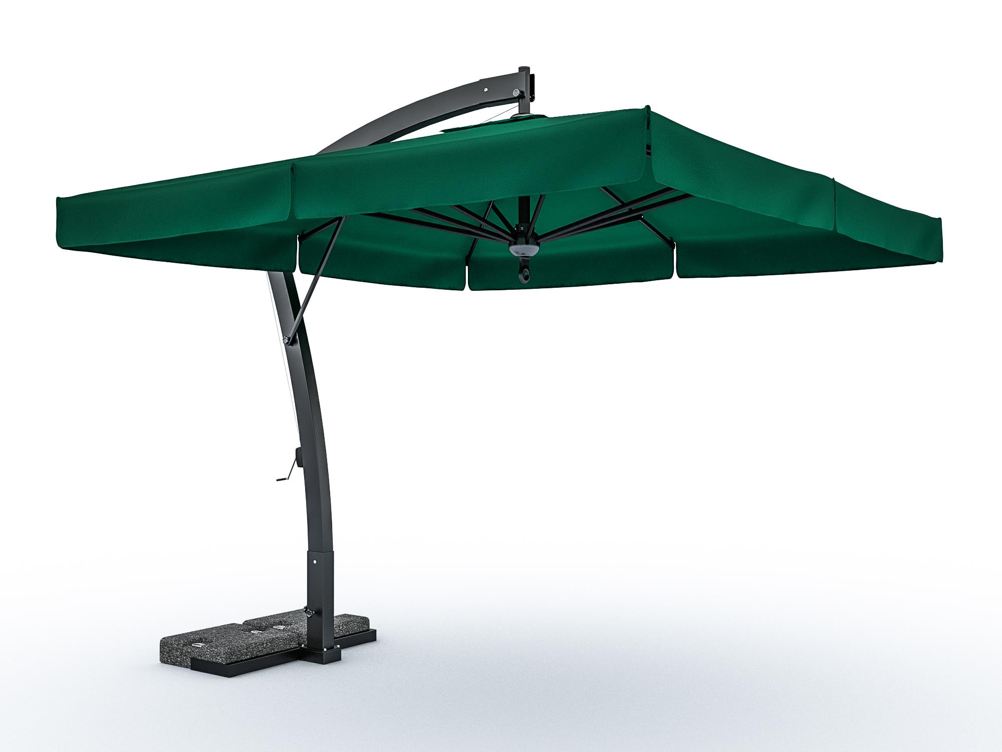 Алюминиевый зонт