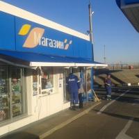 Маркизы для АЗС Газпром